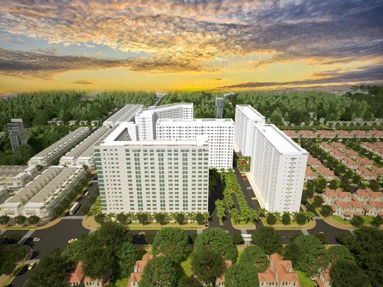 Green Town Bình Tân: Căn hộ đạt chuẩn mực sống xanh giữa lòng đô thị - Ảnh 2.