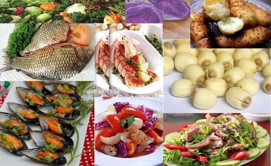 Những thực phẩm tốt cho phong độ đàn ông gồm: rau xanh, hoa quả tươi, vừng, dưa chuột, hạt sen, khoai từ, khoai môn, vẹm, hải sâm, thịt dê, cá, tôm...