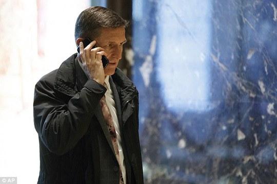Trung tướng Michael T. Flynn – người được Tổng thống đắc cử Donald Trump chọn làm cố vấn an ninh quốc gia cấp cao. Ảnh: AP