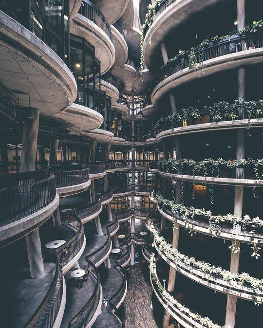 Những kiến trúc độc đáo, có một không hai trên thế giới