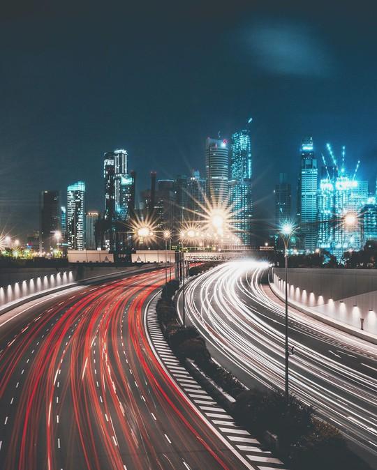 Khi thành phố vào đêm