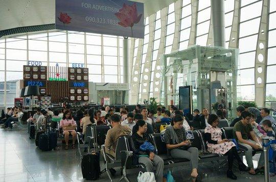 Một góc sân bay của Đà Nẵng. Số lượng du khách đến với Đà Nẵng ngày càng tăng và nhiều người chọn ở tại các khách sạn 3-5 sao - Ảnh: Đào Loan