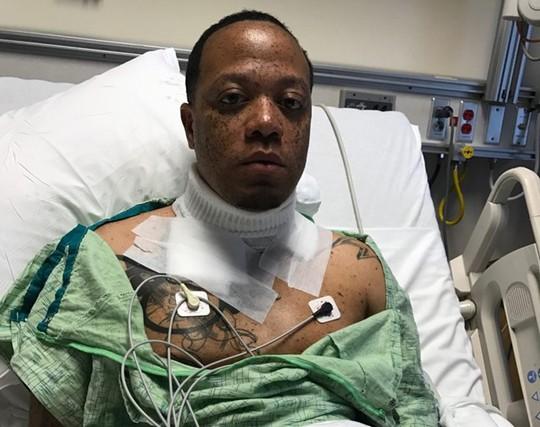 Wiley Day bị điện giật và may mắn thoát nạn khi sạc iPhone qua đêm. Ảnh: Washington Post.