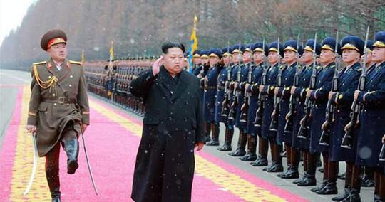 Nhà lãnh đạo Triều Tiên Kim Jong-un. Ảnh: EAP