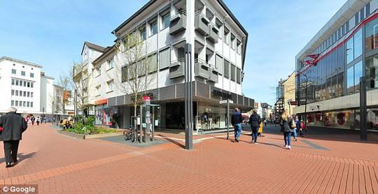 Trung tâm thị trấn Giessen, Đức. Ảnh: Google