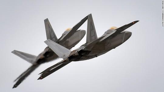 Máy bay tiêm kích F-22 Raptor. Ảnh: Không quân Mỹ công bố