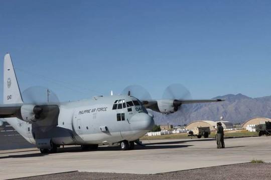 Một chiếc C-130 của Philippines. Ảnh: Philstar