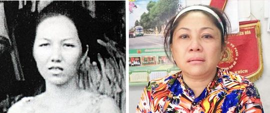 Chân dung Nguyễn Thị Thu Diệu trước đây và khi bị bắt (đã phẫu thuật thay đổi khuôn mặt).