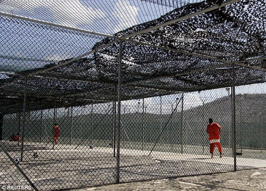 Hiện có 59 tù nhân còn bị giam tại nhà tù quân sự gây tranh cãi ở vịnh Guantanamo. Ảnh: REUTERS