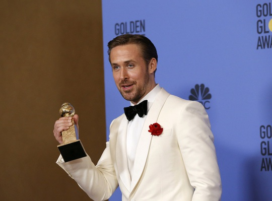 Ryan Gosling chia sẻ niềm vui