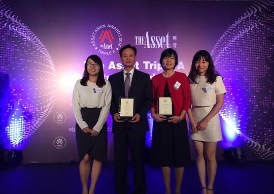 """BIDV nhận giải thưởng """"Nhà tư vấn phát hành trái phiếu tốt nhất Việt Nam năm 2016"""""""