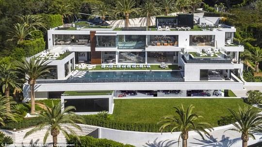 Siêu biệt thự đắt nhất thế giới ở vùng Bel Air. Ảnh: Bruce Makowsky