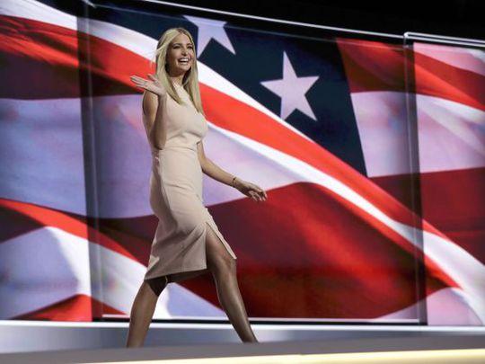 Ivanka Trump - con gái Tổng thống Donald Trump Ảnh: AP