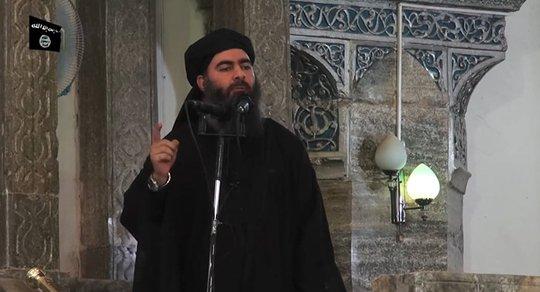 Thủ lĩnh Abu Bakr al-Baghdadi Ảnh: SPUTNIK