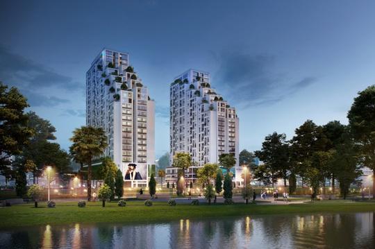 Dự án Luxgarden có hai mặt tiền sông Sài Gòn sẽ mang lại không gian sống lý tưởng cho cư dân