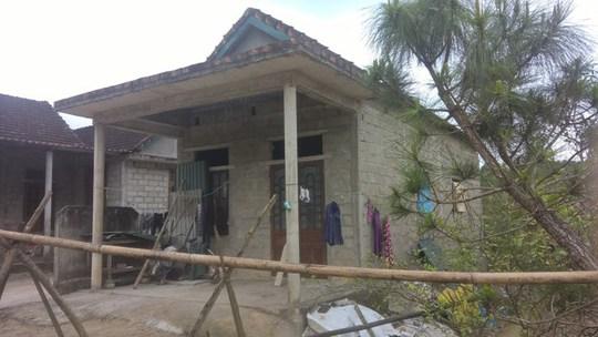 Căn nhà của nghi phạm Nguyễn Văn Lộc