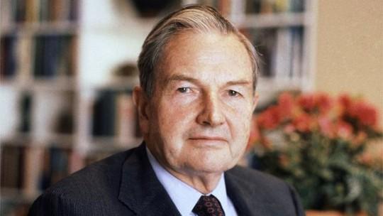 Doanh nhân tỉ phú Mỹ và nhà hoạt động từ thiện David Rockefeller đã qua đời ở tuổi 101. Ảnh: AP