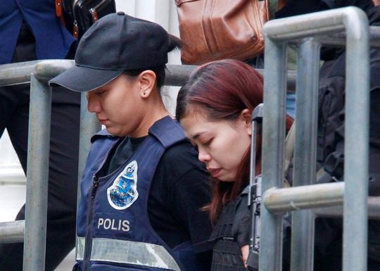 Công dân Indonesia tên Siti Aisyah Ảnh: REUTERS