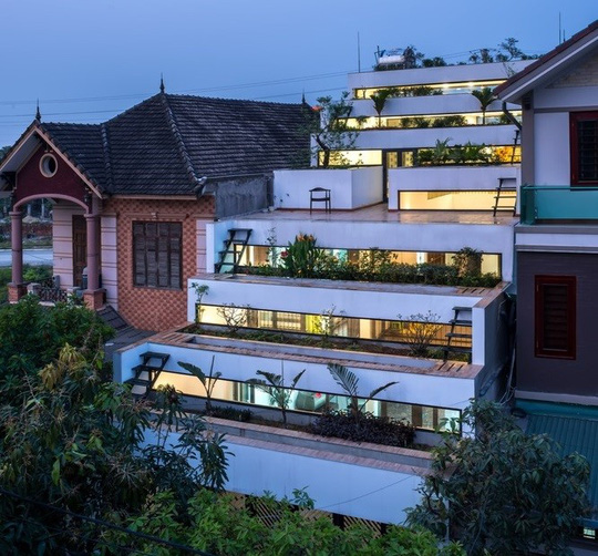 Căn nhà có diện tích 110 m2 ở vùng nông thôn thuộc tỉnh Hà Tĩnh.