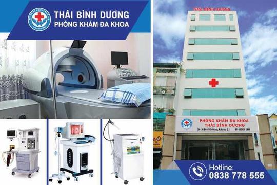 Phòng khám Đa khoa Thái Bình Dương cùng trang thiết bị y khoa hiện đại