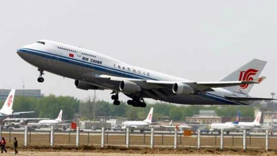 Một chiếc máy bay của hãng hàng không Air China. Ảnh: Reuters