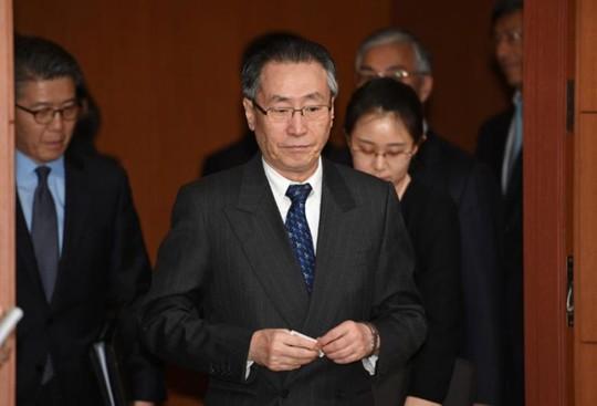 Ông Vũ Đại Vĩ đã có chuyến thăm tại Hàn Quốc. Ảnh: Reuters
