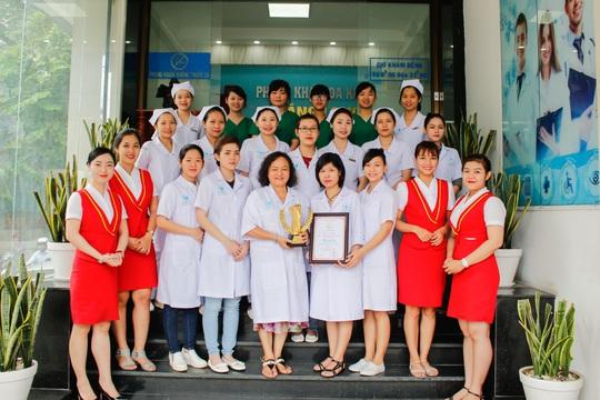Th.S, BS Phạm Ánh Thủy (Bác sĩ phụ trách chuyên môn) và đội ngũ y bác sĩ tại Đa khoa Thăng Long