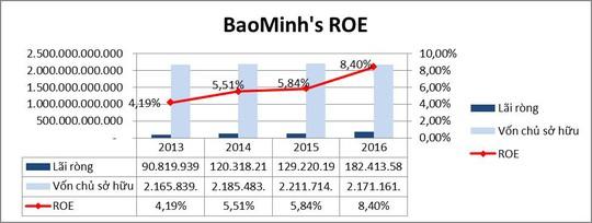 Bảo Minh: Chỉ số ROE đang thu hút nhà đầu tư - Ảnh 2.