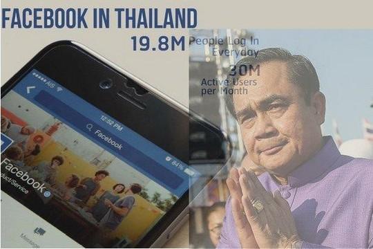 Facebook đối mặt nguy cơ đóng cửa tại Thái Lan - Ảnh 1.
