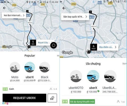 Miếng bánh sân bay trong cuộc chiến taxi, Uber, Grab - Ảnh 2.