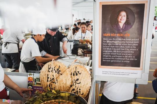 Bánh bèo, bánh xèo Việt Nam xuất hiện ở Đại hội ẩm thực thế giới - Ảnh 2.