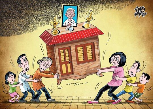 Chuyện đau lòng cùa 1 gia đình ở TP HCM - Ảnh 1.