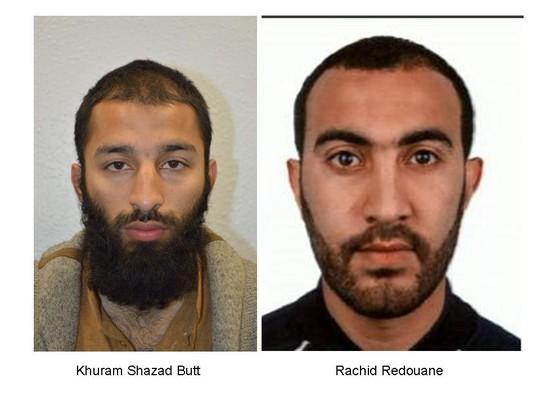 Khủng bố ở Anh: Công bố danh tính 2 kẻ tấn công - Ảnh 1.