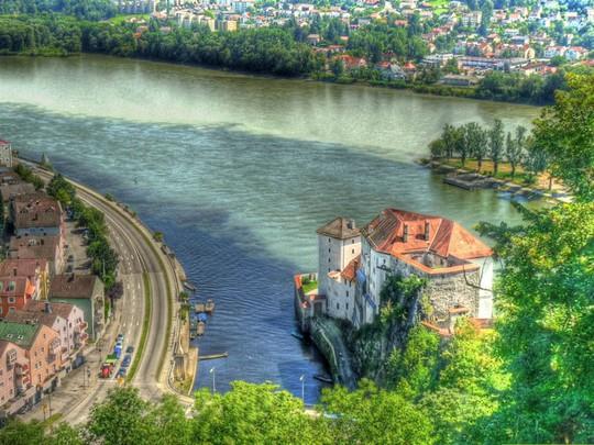 10 hợp lưu sông hùng vĩ trên thế giới - Ảnh 1.