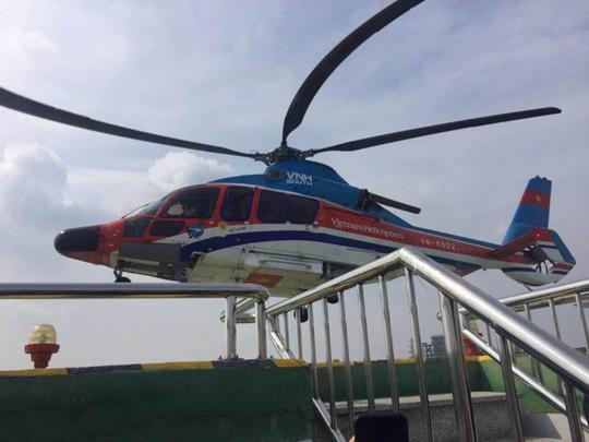 Trực thăng chở khách từ trung tâm ra sân bay Tân Sơn Nhất - Ảnh 1.