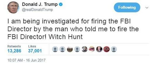 Thông điệp Twitter bất ngờ của ông Donald Trump - Ảnh 1.