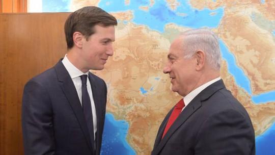 Con rể Tổng thống Mỹ họp kín với Thủ tướng Israel - Ảnh 1.