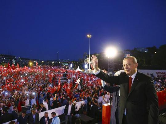 Tổng thống Thổ Nhĩ Kỳ thề lấy đầu kẻ phản bội - Ảnh 1.