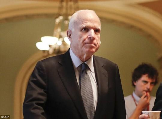 Thượng nghị sĩ Mỹ John McCain bị ung thư não - Ảnh 1.