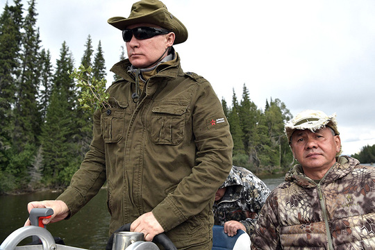 Tổng thống Putin cởi trần nghỉ mát tại Siberia - Ảnh 10.