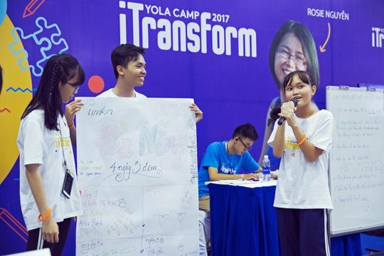 Hiện thực hóa tiềm năng bản thân qua trại hè YOLA Camp 2017 iTransform - Ảnh 2.