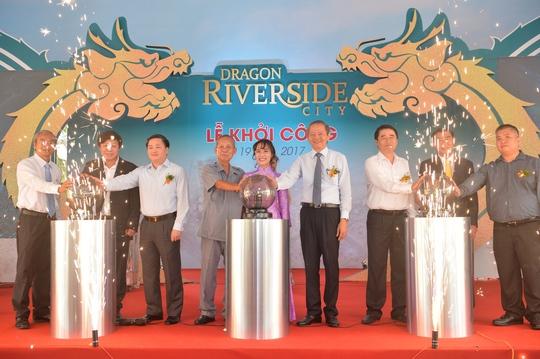 Khởi công dự án 5 sao Dragon Riverside City - Ảnh 2.