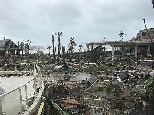 Phi công liều lĩnh lái máy bay xuyên bão Irma - Ảnh 3.