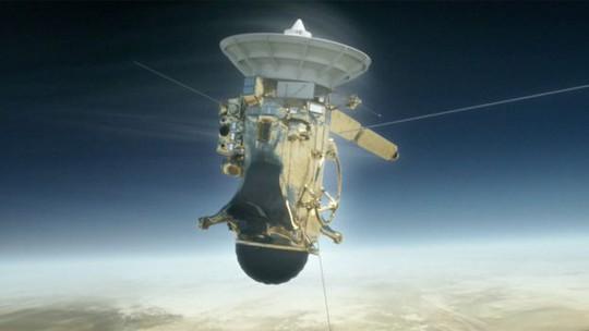 Tàu Cassini vùi mình trên sao Thổ - Ảnh 1.