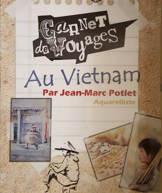 Họa sĩ Pháp triển lãm tranh về Việt Nam tại bảo tàng quê nhà - Ảnh 6.