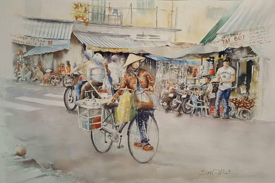 Họa sĩ Pháp triển lãm tranh về Việt Nam tại bảo tàng quê nhà - Ảnh 19.