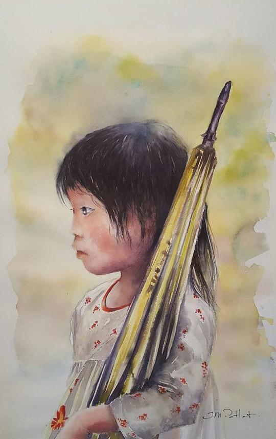Họa sĩ Pháp triển lãm tranh về Việt Nam tại bảo tàng quê nhà - Ảnh 13.