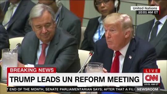 Ông Donald Trump lại chê Liên Hiệp Quốc - Ảnh 1.