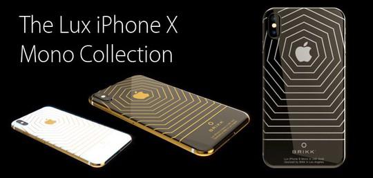 Phát sốt với iPhone X mạ vàng giá 1,5 tỉ vừa lộ diện - Ảnh 2.