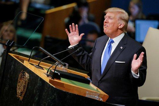 Điều ông Donald Trump không nói ở LHQ - Ảnh 1.